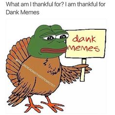 More like...danks-giving..