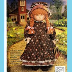 193 Vogue 8336 Early American Doll & Clothes by by ladydiamond46