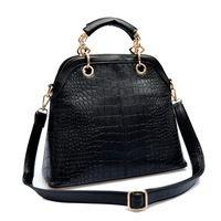 2014 New Arrive Crocodile Grain Leather Womens Handbags Causal Shoulder Bags