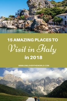 Looking to travel to Italy in 2018? The boot looking country can offer many wonderful
