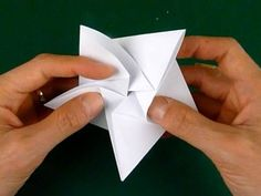 5 pointed origami star step 3c