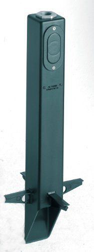 Arlington Industries GPL19G-1 Gard-N-Post Low-Profile Landscape Lighting Post with Metal Bushing, 19-Inch, Green by Arlington Industries. $12.00. From the Manufacturer                Gard-N-Post GPL19G Low-Profile Landscape Lighting Post with Metal Bushing, 19-Inch, Green Arlington's Gard-N-Posts are the attractive, safe and easy way to install light fixtures and devices outdoors! Installing an outdoor light fixture is easier, and less expensive. The GPLN series lo...