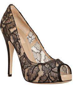 it's the season of lace shoes