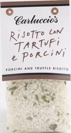 Truffle And Porcini Risotto 300g ~ Risotto Con Tartufi E Porcini | 300g