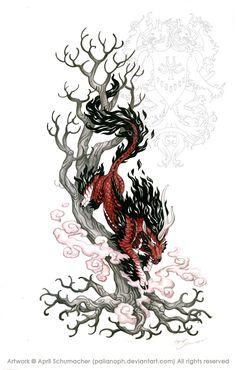 Kirin Tattoo: Final by pallanoph.deviantart.com on @deviantART