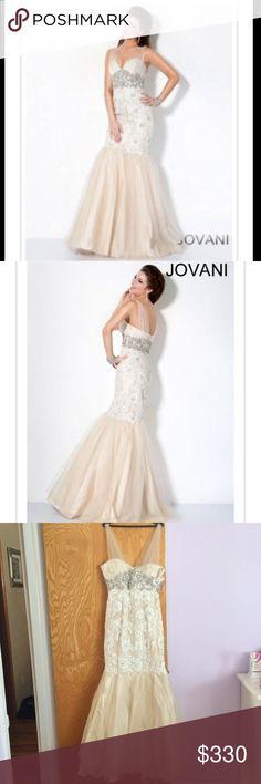 Spotted while shopping on Poshmark: Jovani mermaid gown! #poshmark #fashion #shopping #style #Jovani #Dresses & Skirts