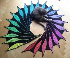 The pattern contains two sizes of the Dreambird, one for women and another one for little girls.