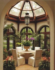 Beautiful. Love the natural light and the greenery