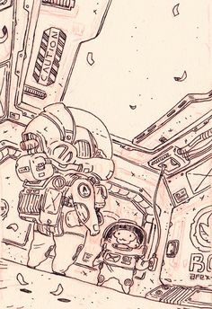 junk gallery | last space sketches for the moment.