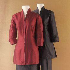 Silk Dupioni Kurta Shirt