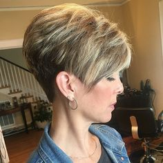 26 Easy Short Pixie Cuts for Chic Ladies Sassy Haircuts, Short Pixie Haircuts, Cute Hairstyles For Short Hair, Short Hair Cuts For Women, Short Hair Styles, Teenage Hairstyles, Super Short Hair Cuts, Short Wedge Hairstyles, Short Stacked Haircuts