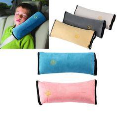 새로운 아기 자동차 자동차 안전 좌석 벨트 하네스 어깨 패드 커버 어린이 보호 자동차 커버 자동차 쿠션 지원 자동차 베개