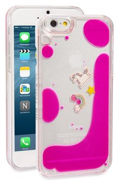 Skinnydip 'Unicorn Charm' iPhone 6 & 6s Case
