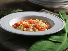Get this all-star, easy-to-follow Pasta e Fagioli recipe from Valerie Bertinelli