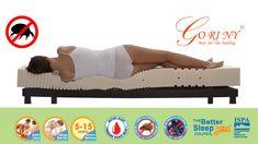 ที่นอนยางพาราแท้100% เพื่อสุขภาพแก้อาการปวดหลัง ป้องกันไรฝุ่น(สาเหตุของโรคภูมิแพ้) แน่นนุ่มสบาย ช่วยในการไหลเวียนของโลหิต เพื่อการพักผ่อนที่ดีของคุณ