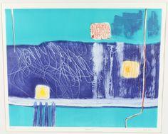 "Lot 449, Heidi Konig, aquatint ""Quarzazale"" limited edition 164/175 22"" x 27…"