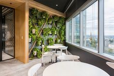 The team at Hot Black has considered experiential design for the workplace fit-out of superfund HESTA, considering textures, sights and sounds. Black Interior Design, Workplace Design, Modern Loft, Office Interiors, Interior Office, Experiential, Booth Design, Leather Interior, House