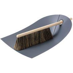 Normann Copenhagen - Dustpan and Brush (175 DKK) ❤ liked on Polyvore