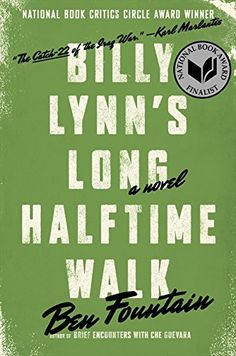 Billy Lynn's Long Halftime Walk by Ben Fountain https://www.amazon.com/dp/0060885599/ref=cm_sw_r_pi_dp_x_g8k7xbB5QH4NW