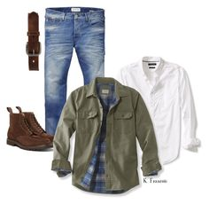 """""""Outfit3"""" by keeshafrancois on Polyvore featuring Scotch & Soda, Banana Republic, L.L.Bean, Bed