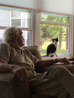 My Grandpa just adopted his first cat at 90 years old. He named him cat and he loves him. http://ift.tt/2rHNkjj