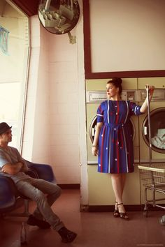 Always wanted to do a laundromat photoshoot...