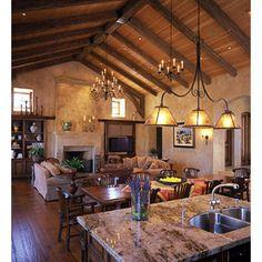 Mediterranean Living Room Tuscan Style