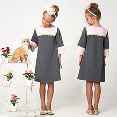 I love the look of this little dress!  :)