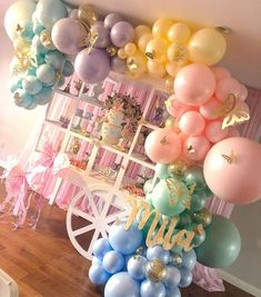 XXL Pastel Macaron Balloons - Baby Shower Balloons Party Decorations - Roll It Baby Butterfly 1st Birthday, Butterfly Party Decorations, 1st Birthday Party For Girls, Butterfly Birthday Party, Butterfly Baby Shower, Birthday Party Decorations, Baby Shower Decorations, Birthday Parties, Rainbow Butterfly