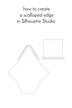 DIY Stationery - Mini Scalloped Tag Set
