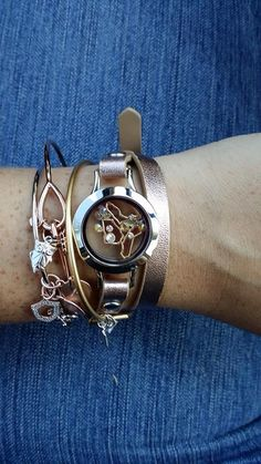 CORE paired with a leather wrap! love it!-->Share your story with the world...through jewelry! Shop online or email me with questions...Or sign up right on my website! :)