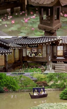 Untold Scandal (스캔들 - 조선남녀상열지사) - 2003 - Les Liaisons Dangereuses in Korea Asian Architecture, Landscape Architecture, Architecture Design, Time In Korea, Chinese Buildings, Asian House, Traditional Japanese House, Permaculture Design, Asian Design