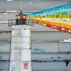 """Reminds me of my dad: Nubble Lighthouse in Maine - """"There is a Light That Never Goes Out"""" - Fine Art Print 8x10"""