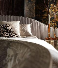 The Roberto Cavalli Home Interior's Iconic Collection is now available at new… Modern Bedroom Design, Contemporary Interior Design, Contemporary Furniture, Bedroom Designs, Sofa Furniture, Luxury Furniture, Furniture Design, Furniture Showroom, Headboards For Beds