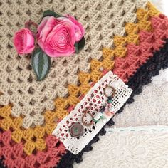 SALE  a lucky happy lappity blanket shawl... 1 by dottieangel