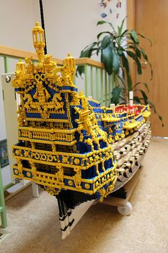 69 Lego Old Ships Ideas – How to build it Lego Pirate Ship, Lego Ship, Legos, Lego Boat, Amazing Lego Creations, Lego Minifigs, Lego Models, Lego Building, Lego City