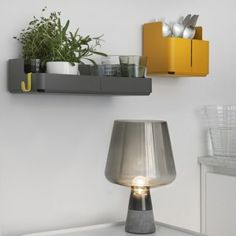 Theatre box-shaped shelves by Cecilie Manz  feature in Iittala's latest collection