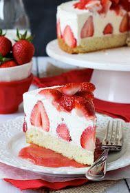 Recipes: Strawberry Shortcake Cheesecake