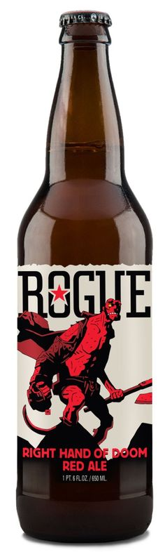 Dark Horse Comics and Rogue Ales To Release Hellboy Beer #CraftBeer #Beer #JoinTheInvasion