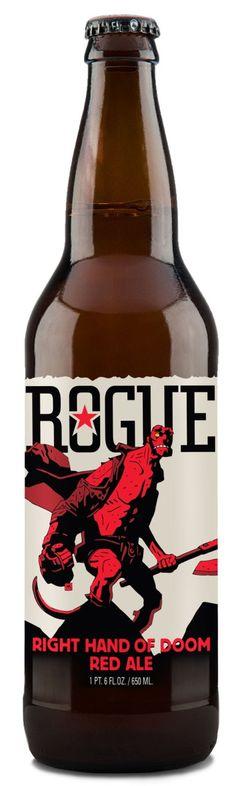 Dark Horse Comics and Rogue Ales To Release Hellboy Beer #CraftBeer #Beer #JoinTheInvasion