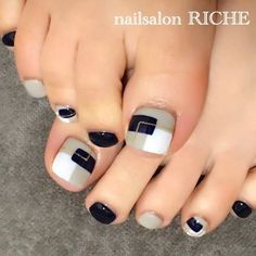 Pedicure Designs Salon Ideas For 2020 Pretty Toe Nails, Cute Toe Nails, Love Nails, Pedicure Designs, Pedicure Nail Art, Toe Nail Designs, Toe Nail Color, Toe Nail Art, Nail Art Diy
