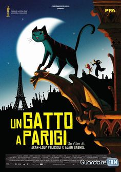 Un gatto a Parigi (2014) in streaming