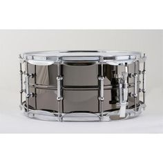 "Ludwig LB417T 6.5""x14"" Brass Shell Black Beauty Snare Drum"