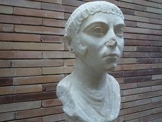 Peiteado romano. Museo de Mérida.