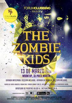 The Zombie Kids en Forum Plaza Granada el Jueves 13 de Marzo de 2014