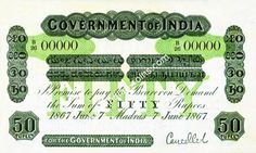 British India Bank Notes and coins Bank Of India, History Facts, Postage Stamps, Periodic Table, Coins, British, Birds, Indian, Money