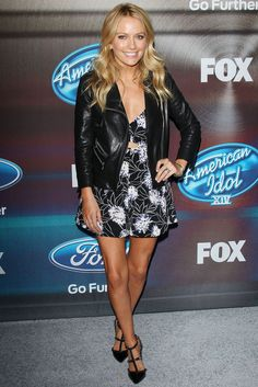 Becki Newton American Idol, Becki Newton, Red Carpet Dresses, Amanda, Rompers, Actresses, Celebrities, Pretty, Womens Fashion