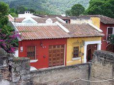 Casas de Antigua Guatemala-Case di Antigua Guatemala