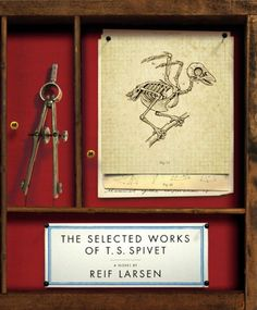 The Selected Works of T. S. Spivet by Reif Larsen http://www.amazon.com/dp/1594202176/ref=cm_sw_r_pi_dp_GCMgub029S8FK