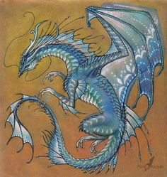 Beautiful Dragon Art Blue agate dragon by Animal Drawings, Drawings, Fantasy Art, Blue Dragon Tattoo, Fantasy Creatures, Art, Dragon Art, Beautiful Art, Dragon Drawing